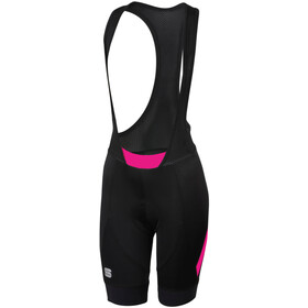 Sportful Neo Short de cyclisme Femme, black bubble gum